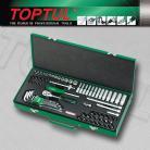 TOPTUL GCAD7202 1/4In Socket & Ball Point Hex Key Wrench